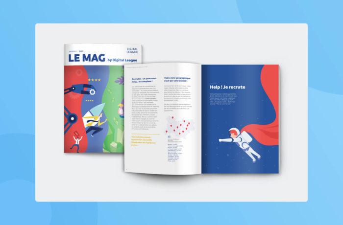 Magazine digital league