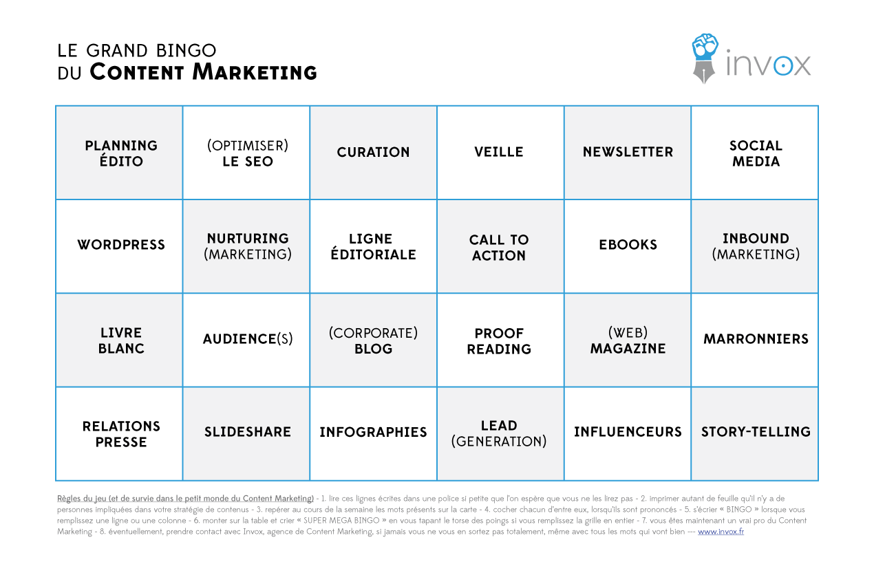 Bingo-Content-Marketing - Invox.fr