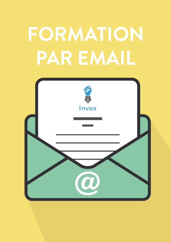 Formation par email gratuite