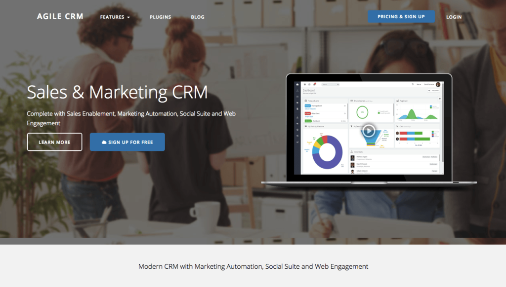 marketing-automation-logiciel-agileCRM