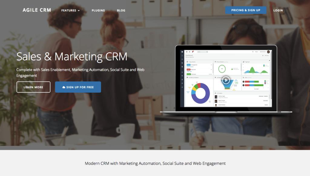 marketing-automation-logiciel-agileCRM