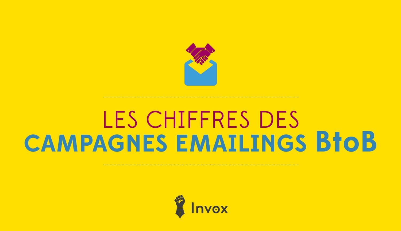 chiffres clés-campagnes emailings BtoB en France