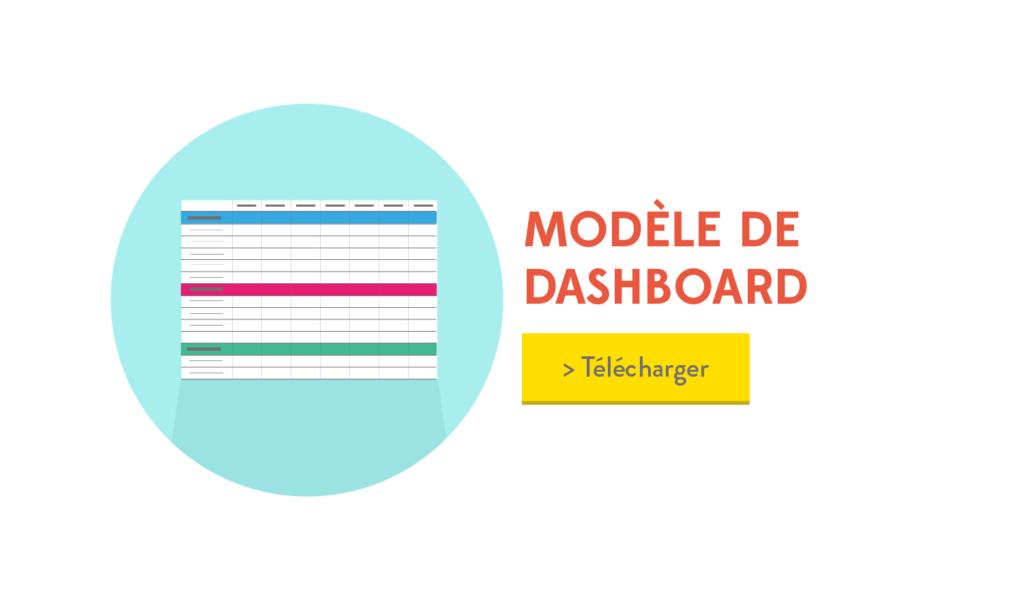 Modèle de Dashboard Content Marketing - Inbound Marketing -- by Invox-01