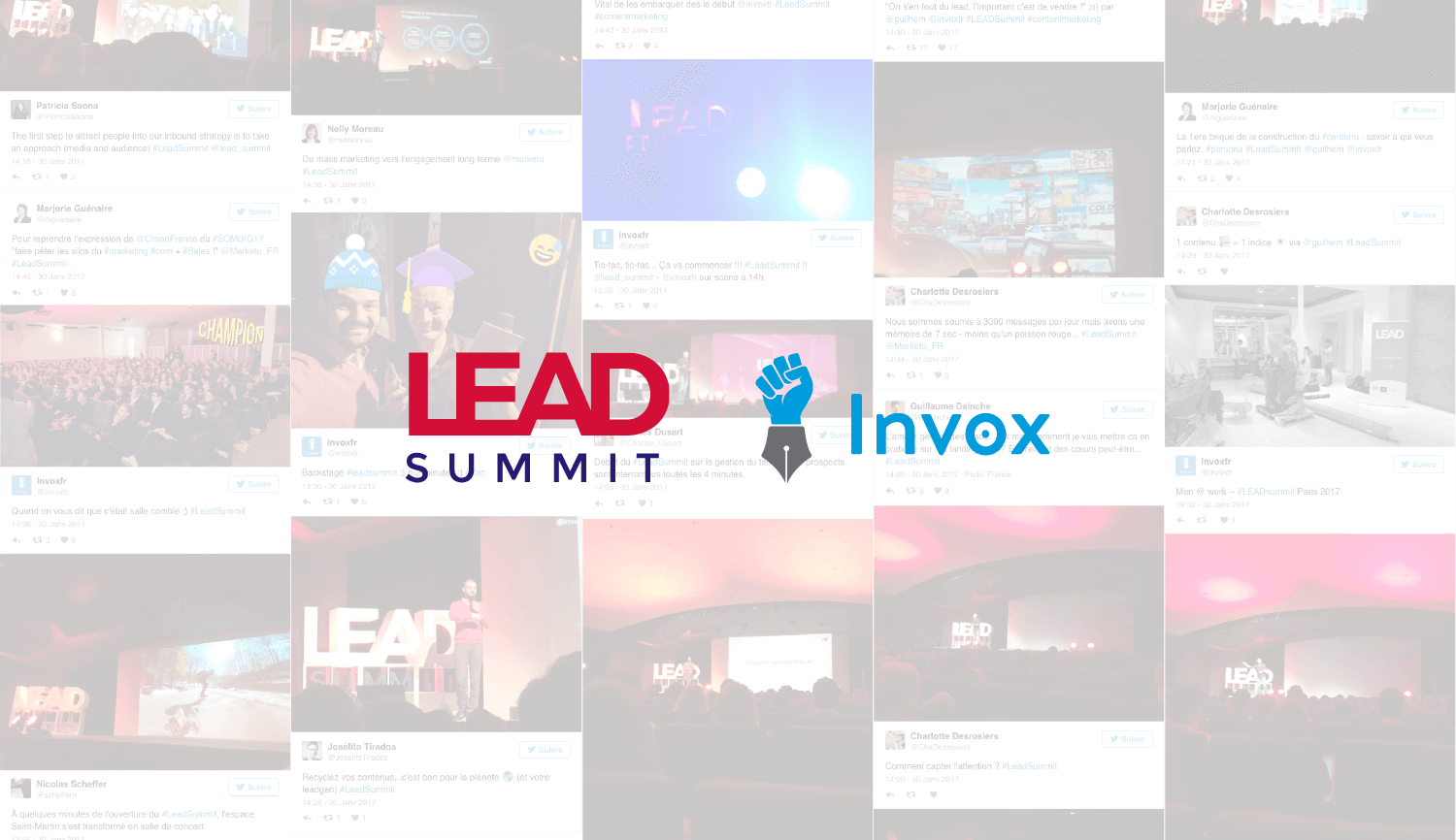 LEAD summit 2017 marketing