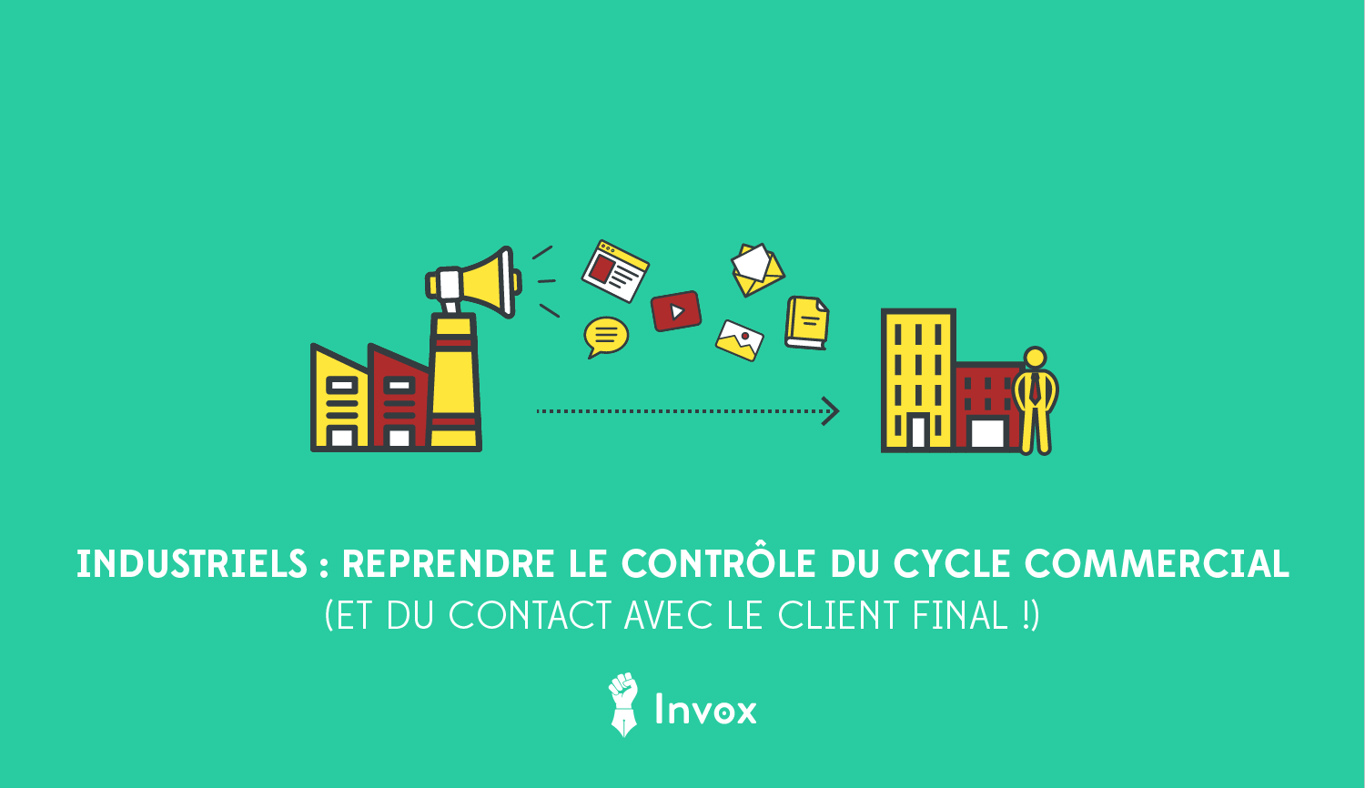 marketing B2B industriels clients finaux cycle commercial