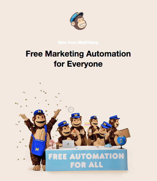 Marketing automation avec MailChimp