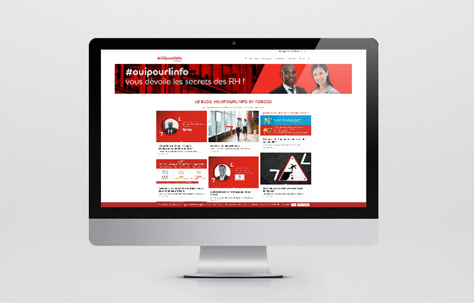 Adecco use case Invox Content Marketing