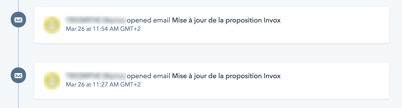tracking ouverture de mail HubSpot