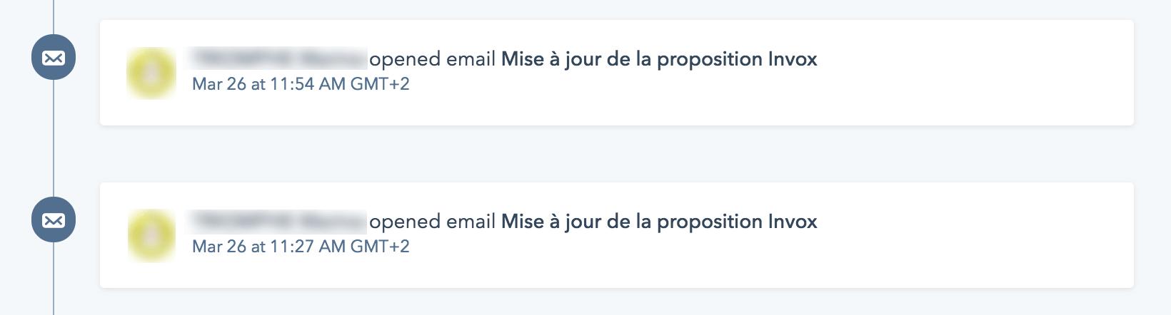tracking ouverture de mail HubSpot