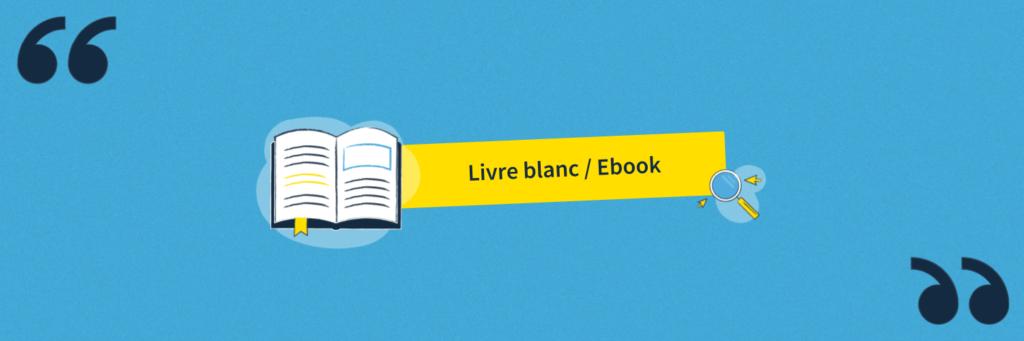La définition du livre blanc (ou ebook)