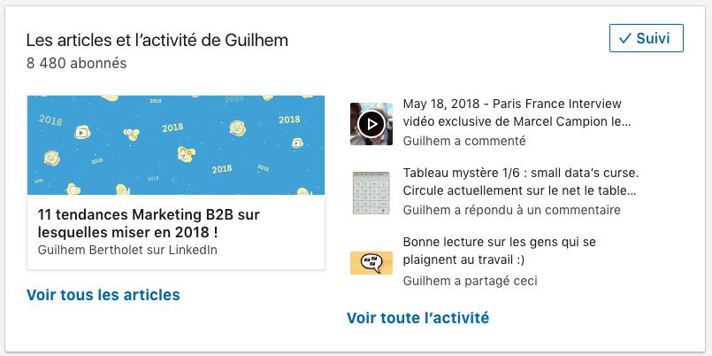 Le fil d'actualité de Guilhem Bertholet sur LinkedIn