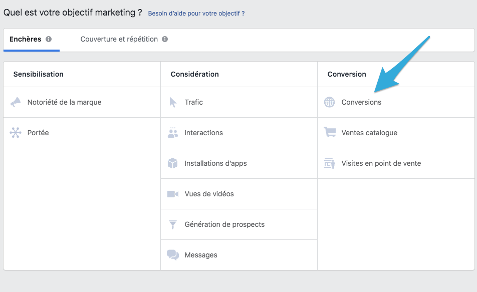 objectif marketing : demand generation avec linkedin
