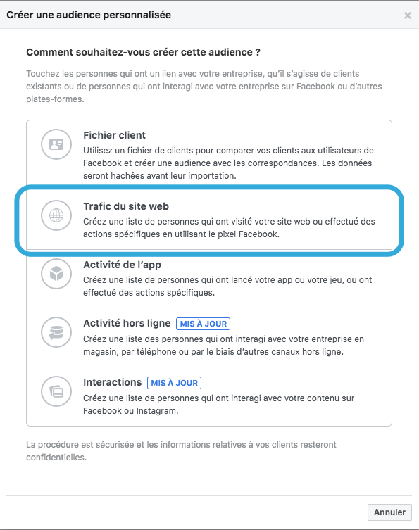 demand generation avec linkedin et le pixel facebook