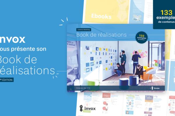 Le Book de réalisations Invox: plus de 100 exemples de contenus B2B!