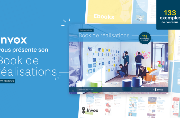 exemples de contenus B2B : le book de réalisations Invox !