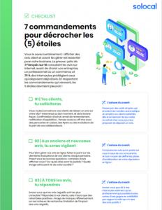 Checklist Recommandation