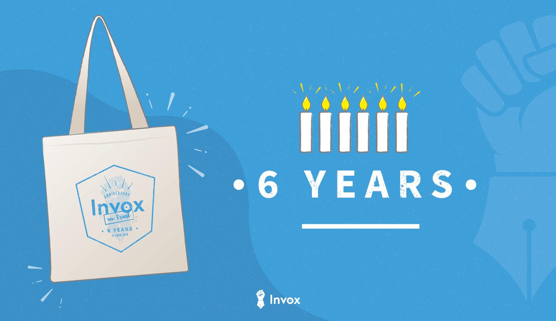 L'agence de content marketing Invox fête ses 6 ans