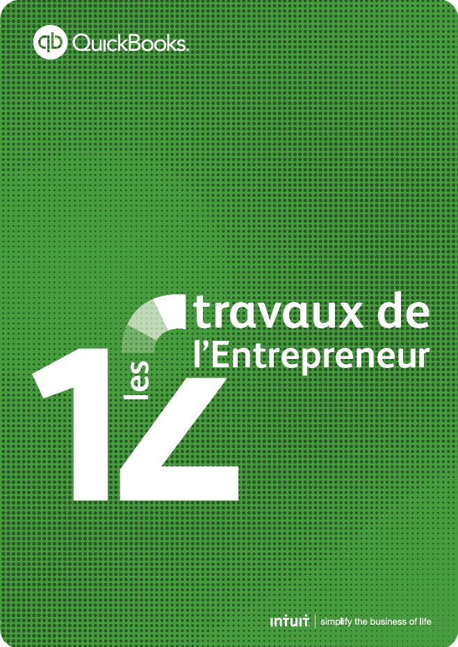 QuickBooks – Les 12 travaux de l'entrepreneur