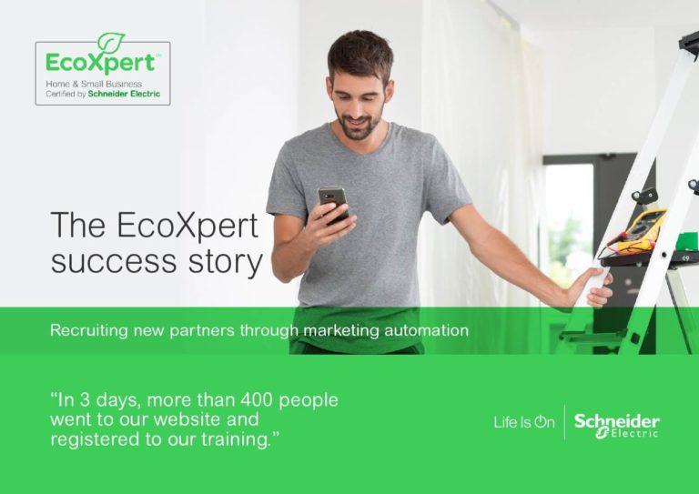 Schneider – The EcoXpert success story, recruiting new partners through marketing automation