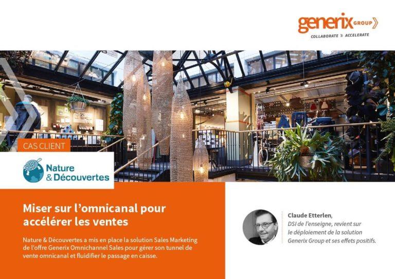 Generix – Nature & Découvertes : Miser sur l'omnicanal pour accélérer les ventes