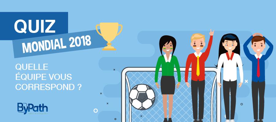ByPath – Quelle équipe de la coupe du monde vous correspond le mieux ?
