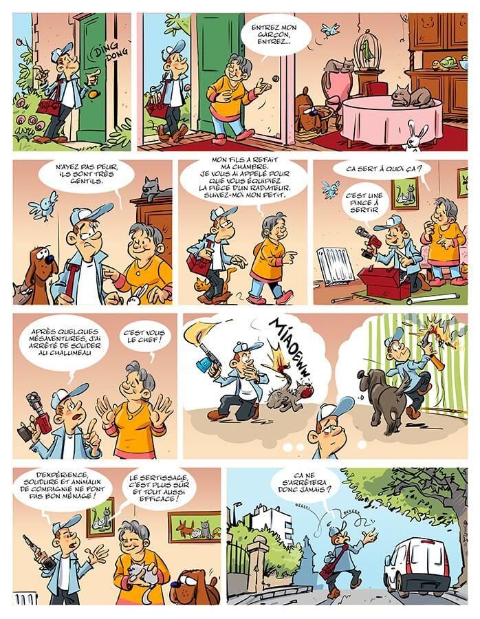 Bande dessinée COMAP