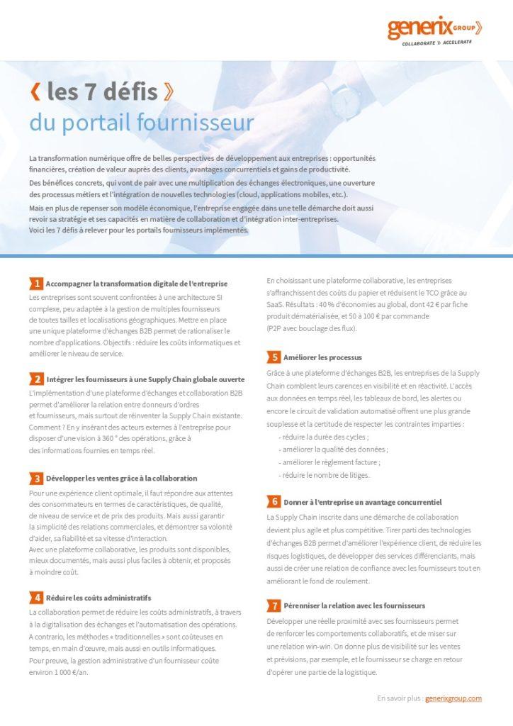 Fiche défi portail fournisseur 2