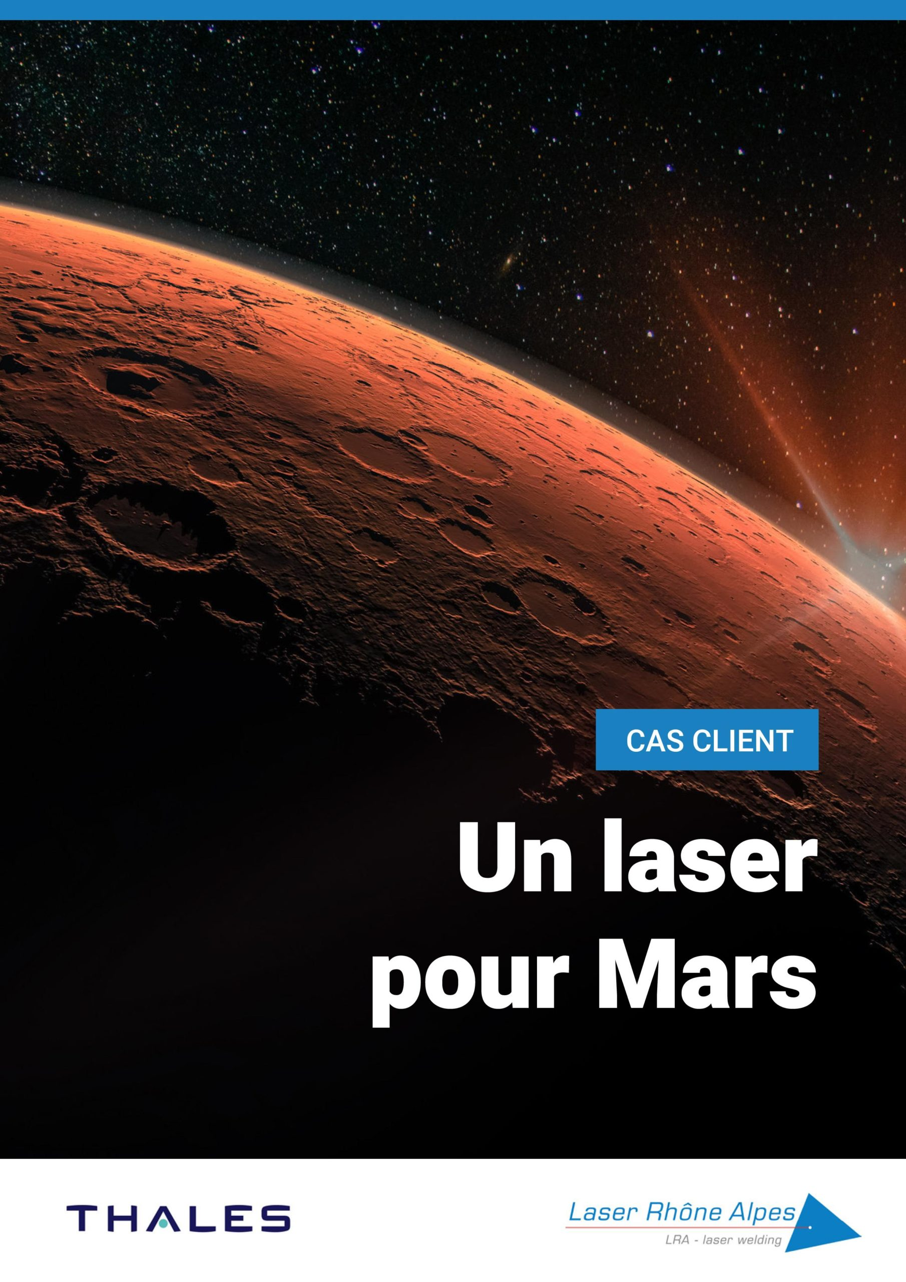 Laser Rhône Alpes – Un laser pour Mars