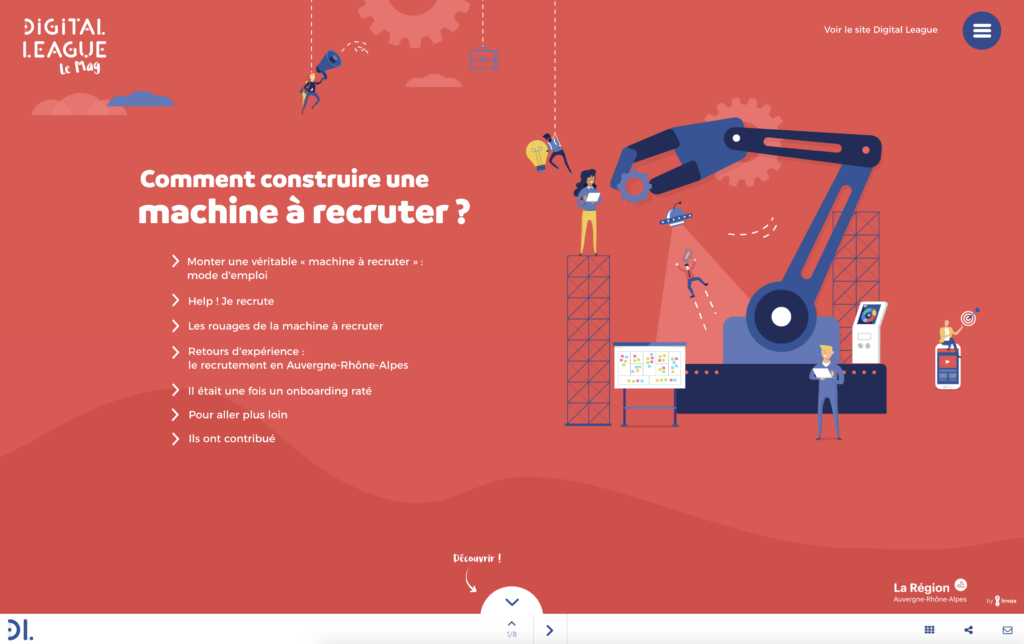 Digital League – Comment construire une machine à recruter ?
