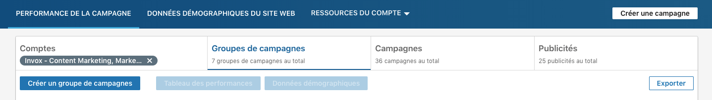Campaign Manager LinkedIn