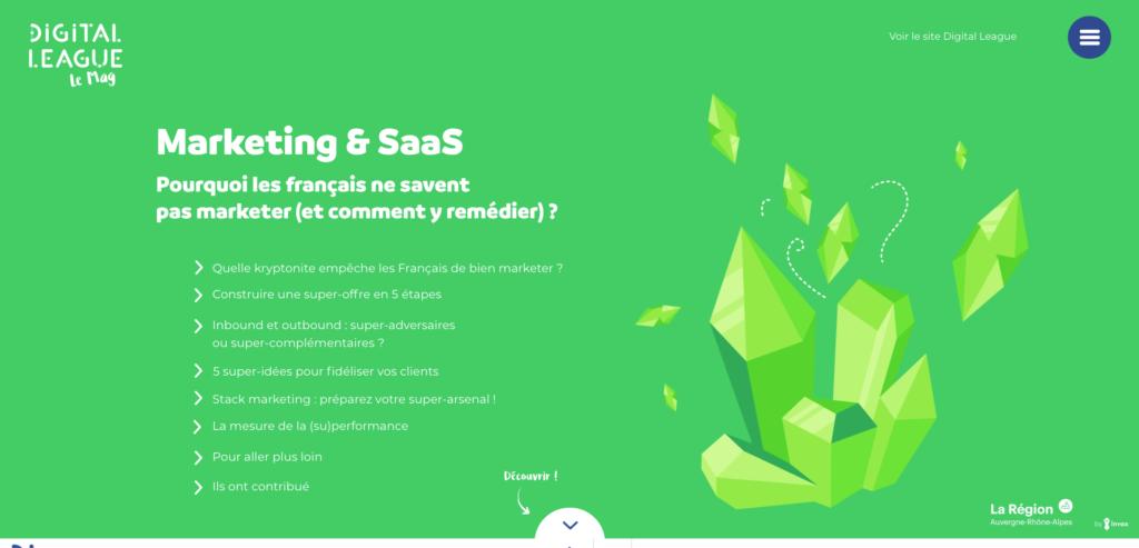 Digital League –Pourquoi les Français ne savent pas marketer (et comment y remédier)?