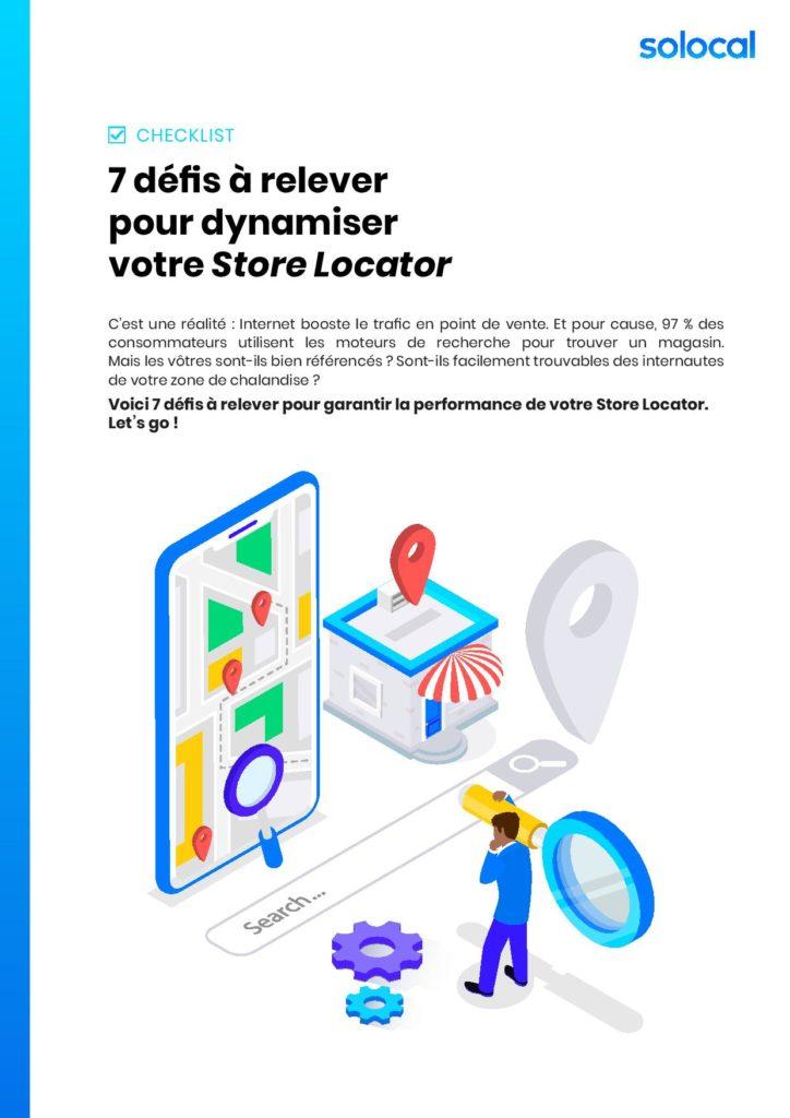 Solocal – Checklist Store Locator