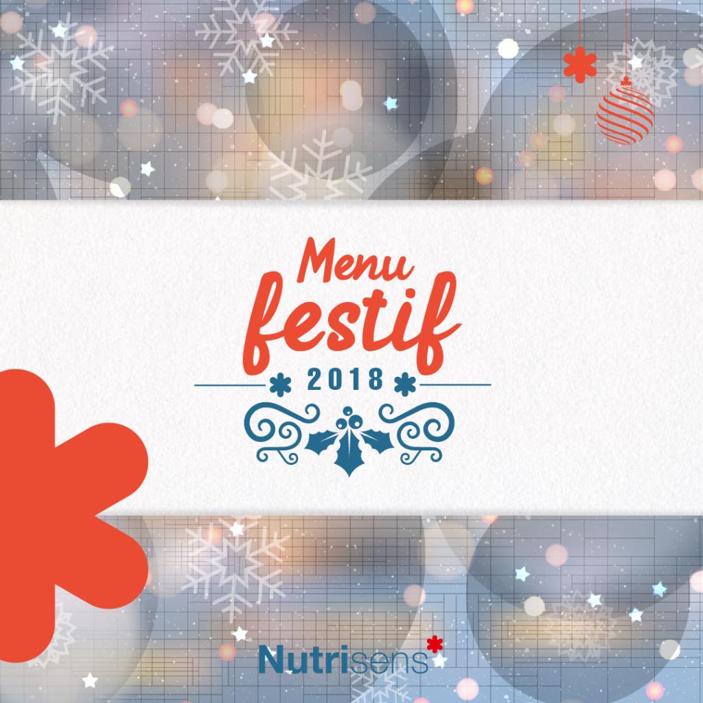 nutrisens carrousel menu festif
