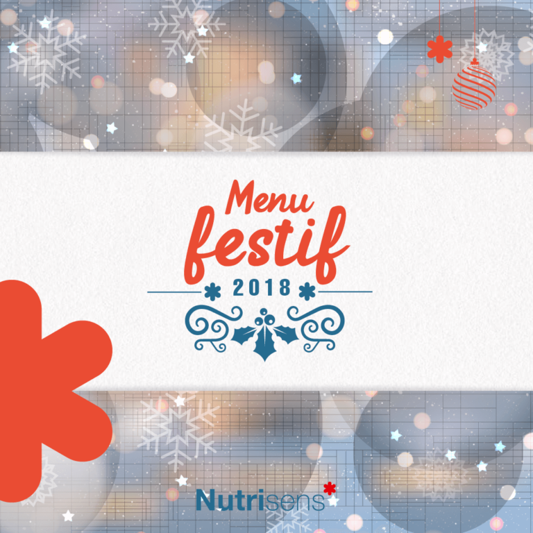 Nutrisens – Carrousel : Menu festif