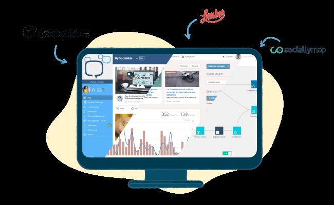 social selling B2B sociallymap limber sociabble