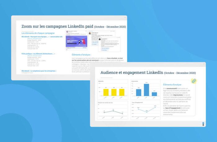 Social Media B2B reporting paid