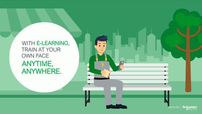 Schneider Electric – Training Path: The Digital Learning Platform EcoXpert