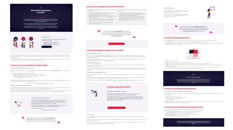 Page pilier Vocaza : tout savoir sur le Net Promoter Score