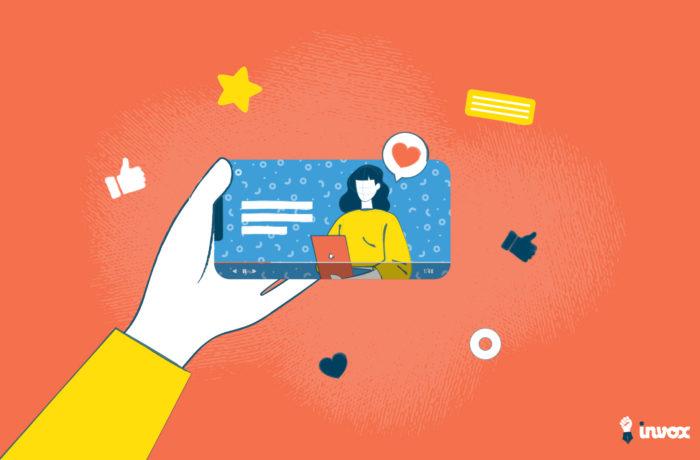 vidéo social media